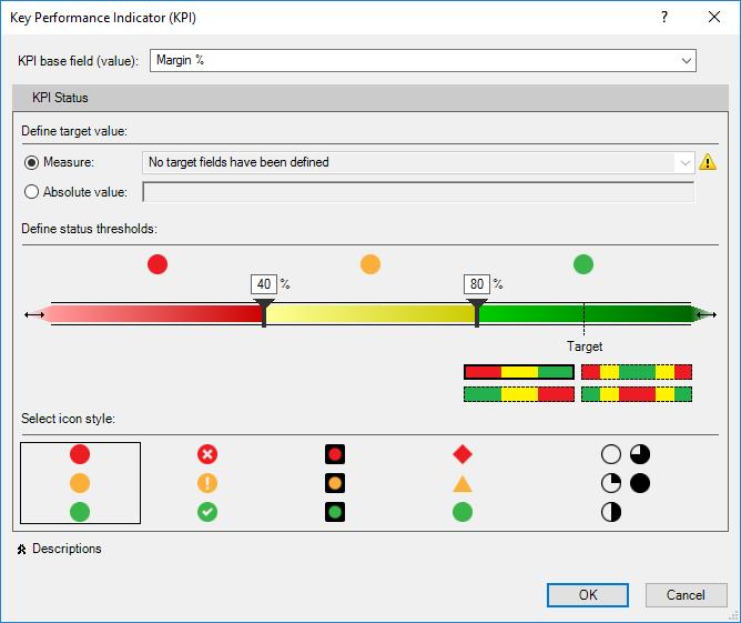 KPI window