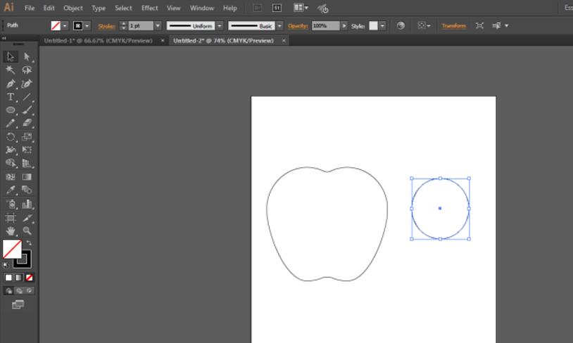Steps 10 logo design in illustrator