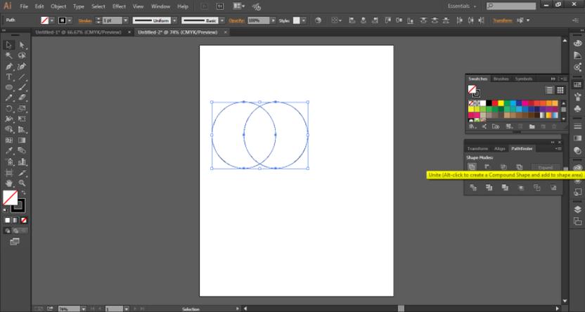 logo design in illustrator Step 7