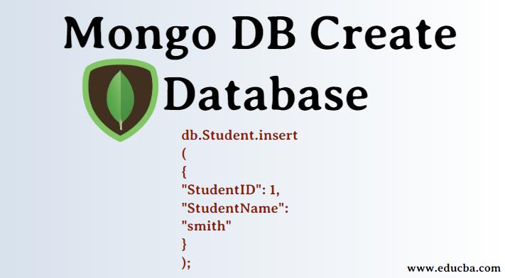MongoDB Create Database