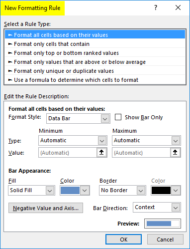 Dashboard in Excel 1-4