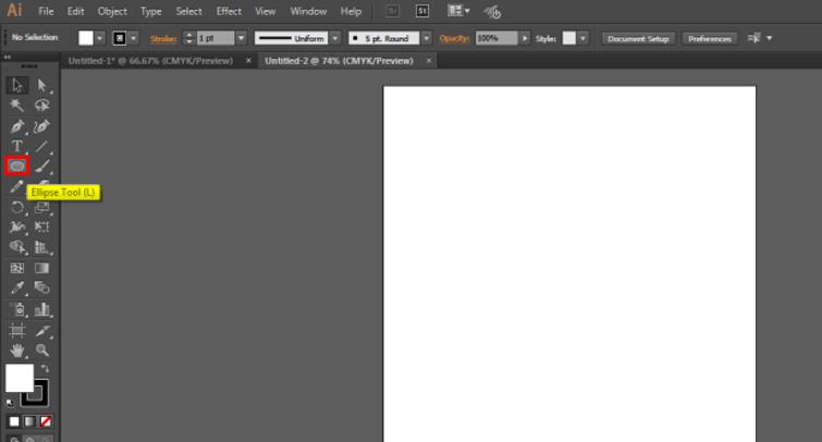 Step 2 logo design in illustrator
