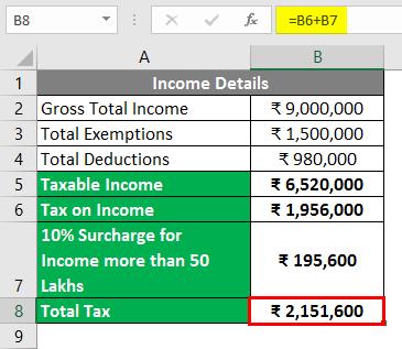 Total Tax 1
