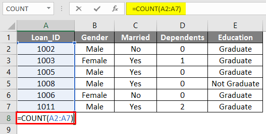 Trim in Excel 2-3