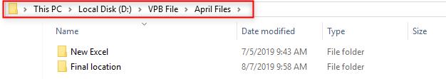 VBA Copy File Example 1.2