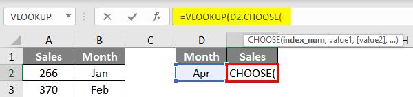 VLOOKUP CHOOSE function 1.3