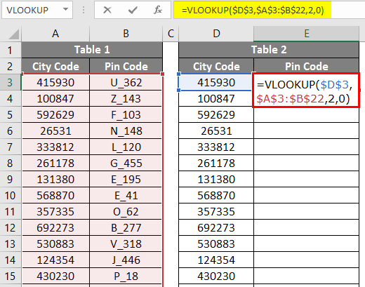 VLOOKUP For Text 2-2