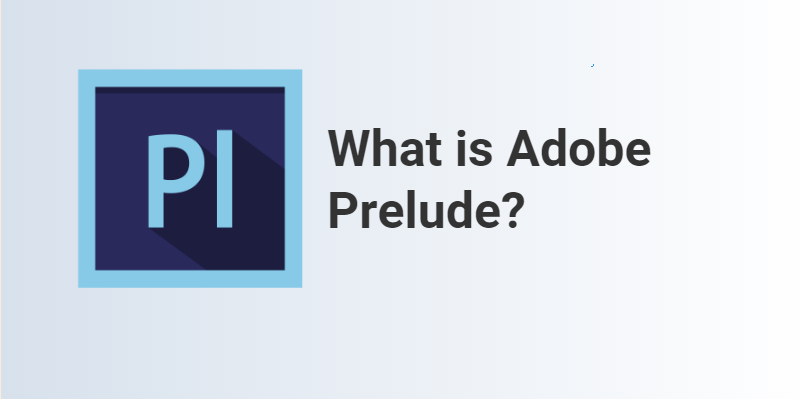 What is Adobe Prelude