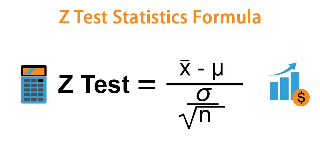 Z Test Statistics Formula