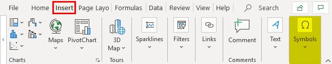 Delta Symbol in Excel 1.1