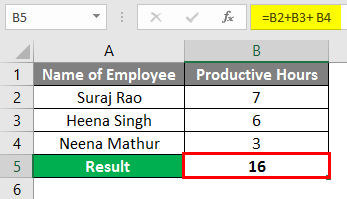 NULL in Excel 1-5