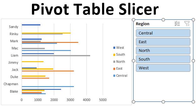 Pivot Table Slicer