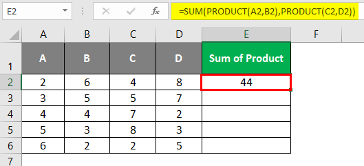 product example 4-4