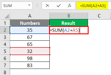sum of multiple rows in excel 2-1