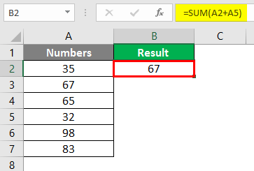 sum of multiple rows in excel 2-2