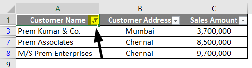 wildcard in excel example 1-6