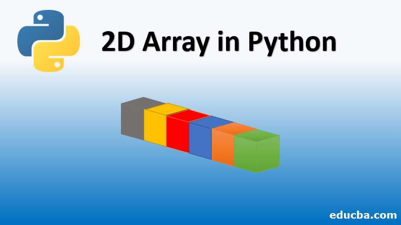 2D array in python