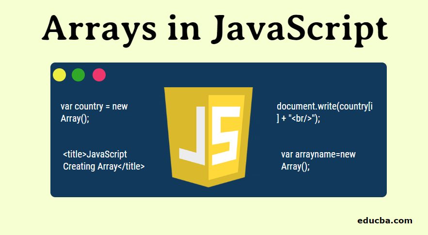 Arrays in JavaScript