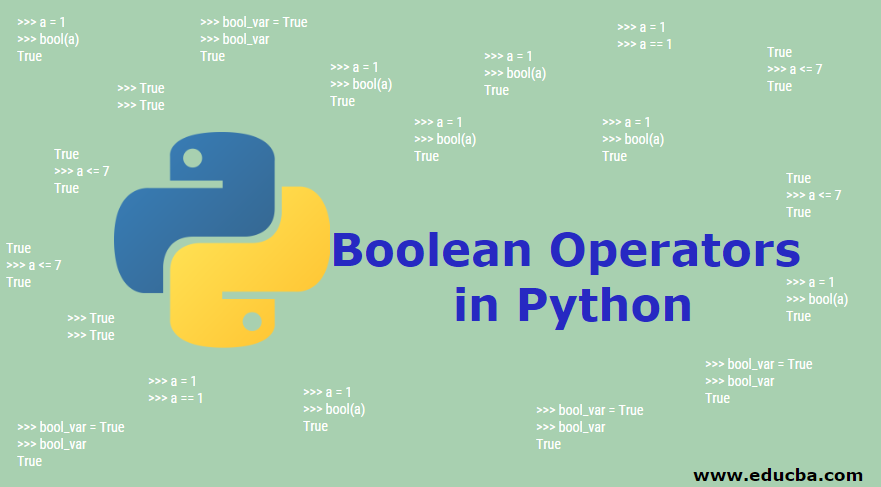 Boolean Operators in Python