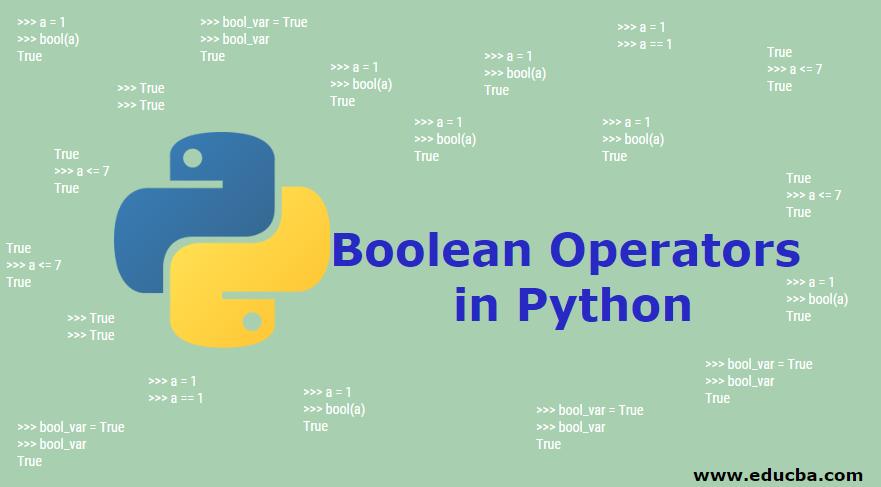 Boolean Operators in Python