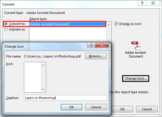Acrobat Document Object