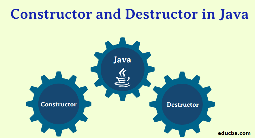 Constructor and Destructor in Java