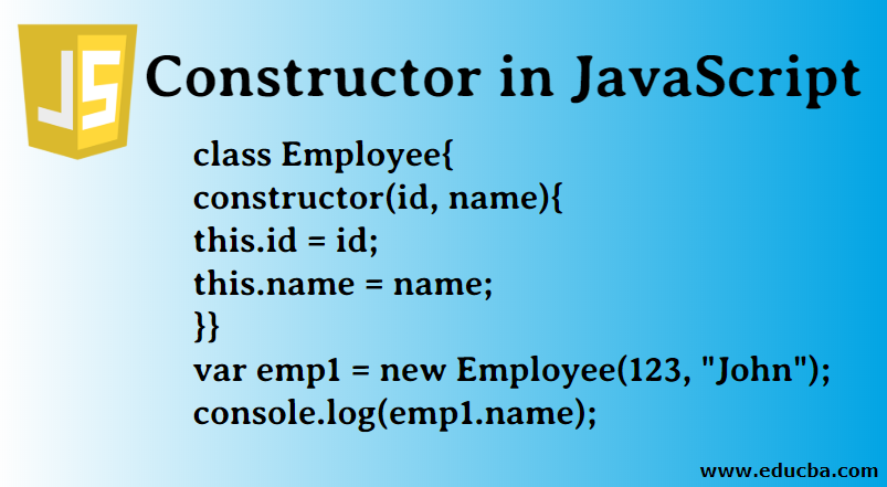 Constructor in JavaScript