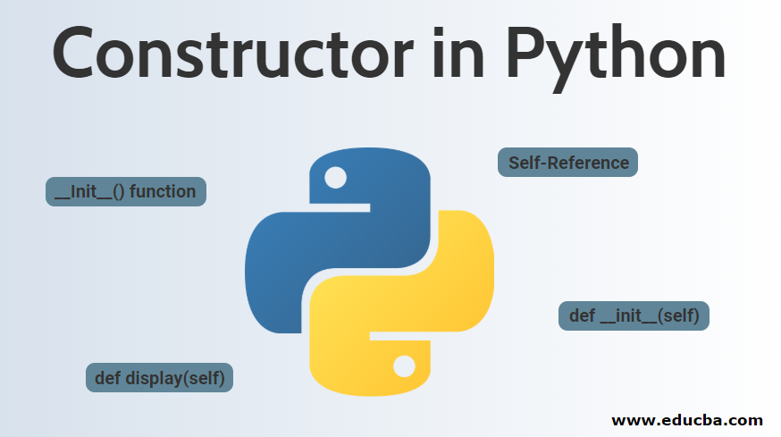 Constructor in Python