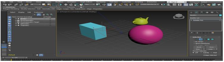 Cut Tool 3D Max short Cut