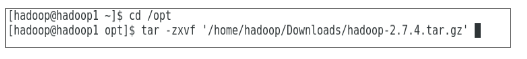 Install Hadoop- Extraction of Hadoop
