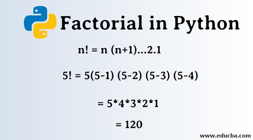 Factorial in Python