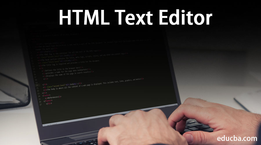 HTML-Text-Editor
