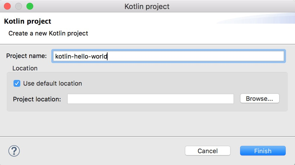 Installing Kotlin and setting it up with Eclipse - 3