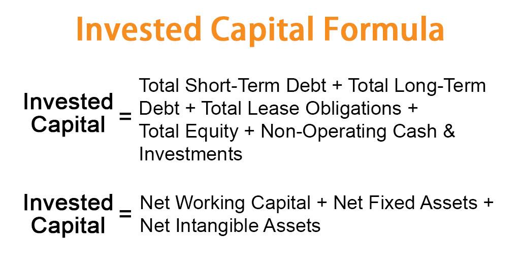 Invested Capital Formula