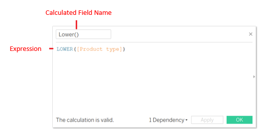 Tableau String Functions 1