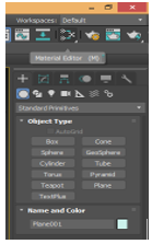 Material Editor option