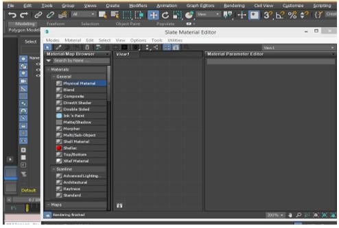 Material Editor 3D Max short cut