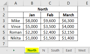 Consolidation in Excel 1-1