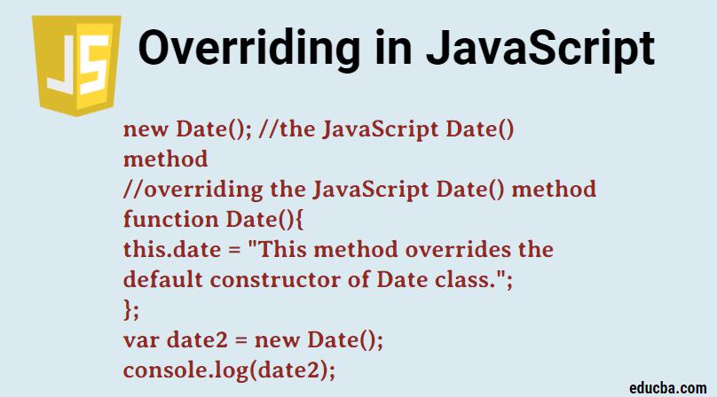 Overriding in javascript