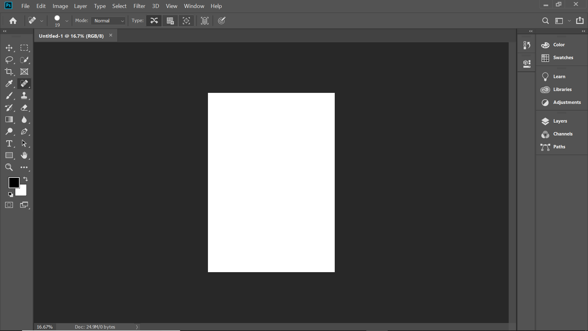 Patch Tool in Photoshop 1.1