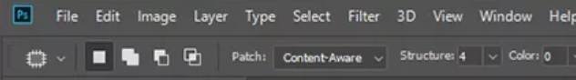 content aware mode