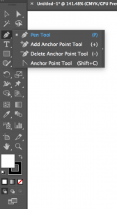 Pen tool in illustrator 1.1