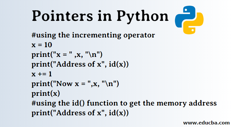 Pointers in Python