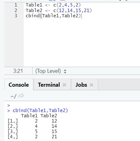 R code output 12