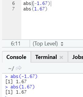 R code output 16