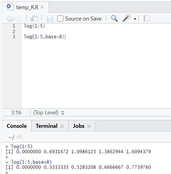 R code output 18
