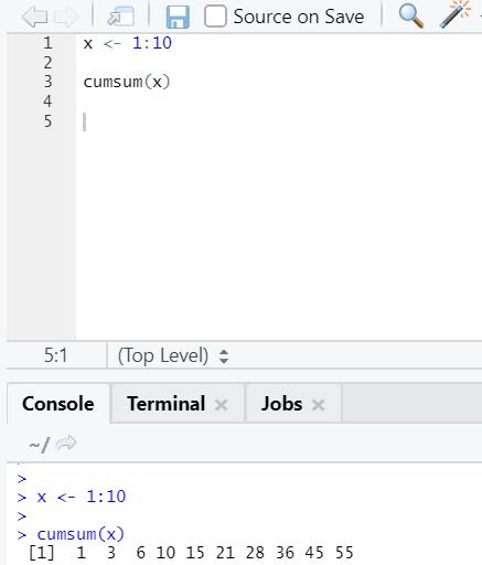 R code output 19