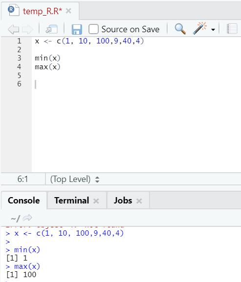 R code output 21