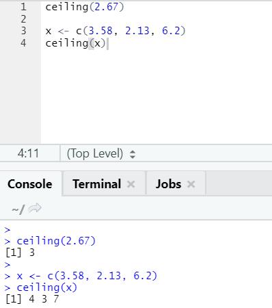 R code output 22