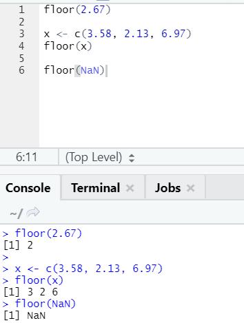 R code output 23